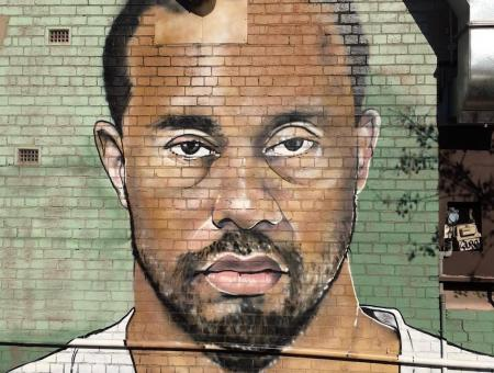 Tiger Woods - The Mural