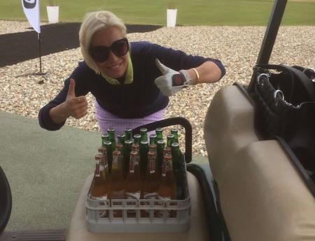 Denise van Outen's tonic for the troops