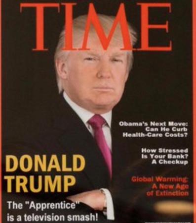 Trump accused of pushing fake news