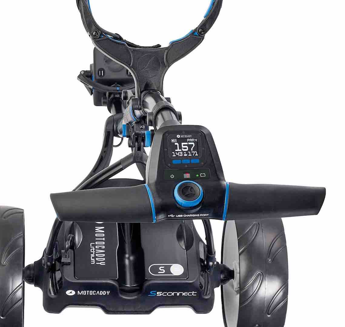 Motocaddy launches world's first smart trolley