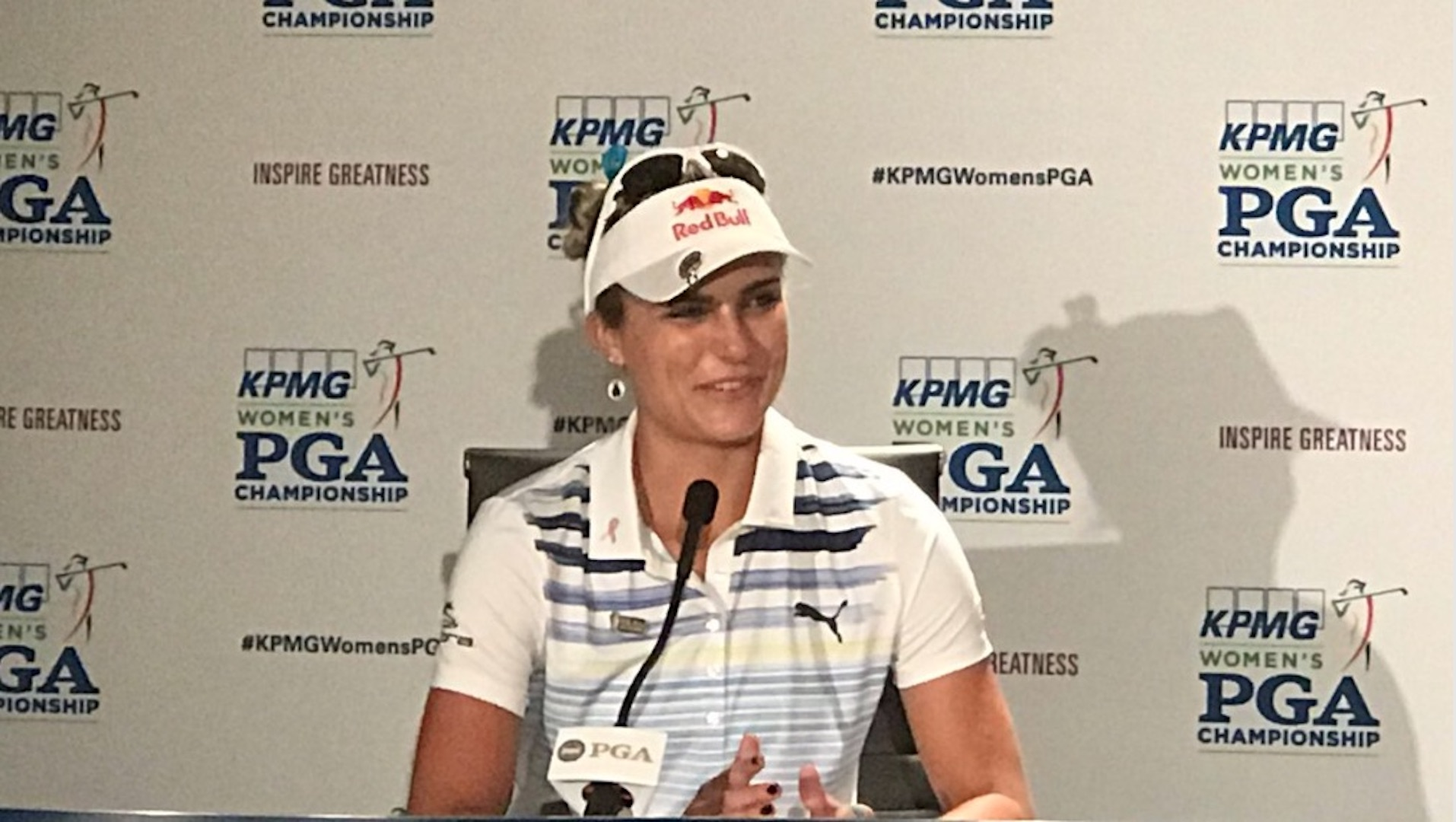 Lexi Thompson opens up