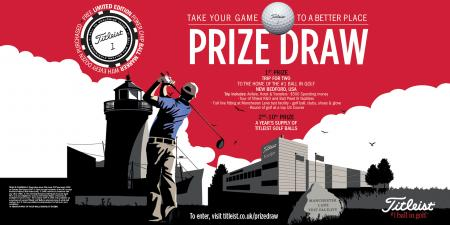 Win Titleist's trip of a lifetime