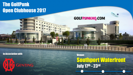It's On!!! The GolfPunk Clubhouse at the Open