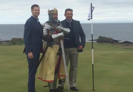 Eric Trump opens Robert the Bruce course