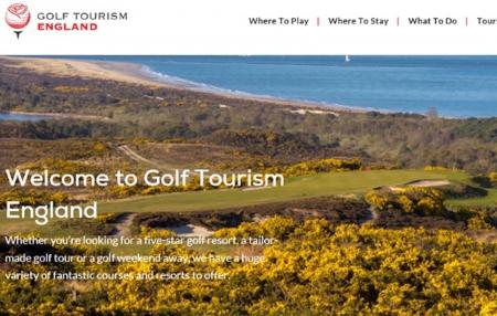 Golf Tourism England launches new website