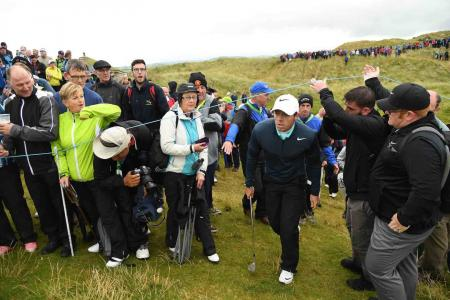 Rory McIlroy misses the cut