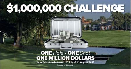 Win a million Dollars with American Golf