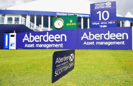 Scottish Open pairings & tee times