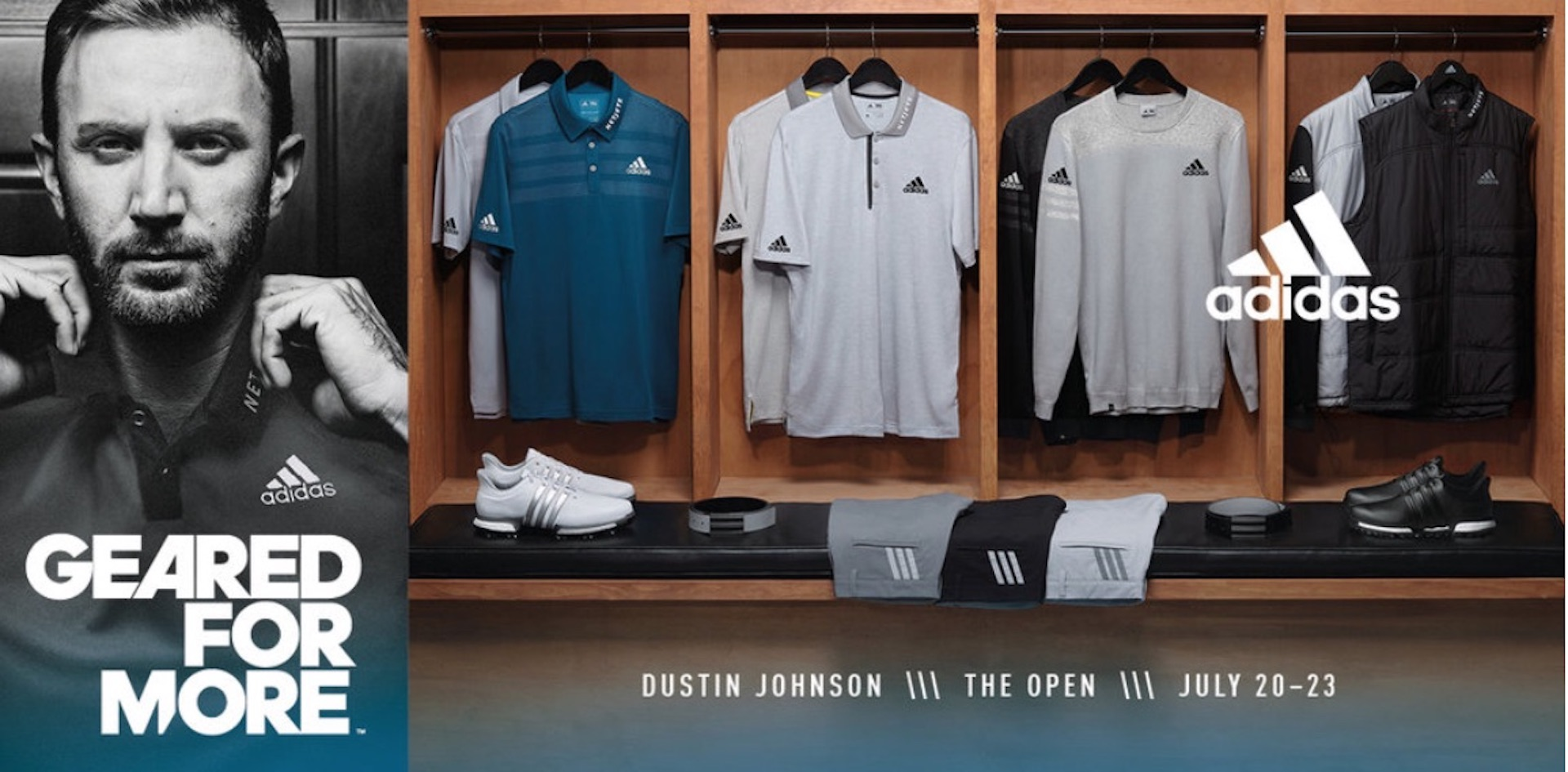 adidas Golf Prepares DJ and Sergio