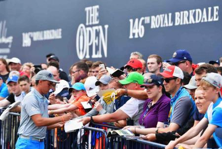 Record breaking crowds expected for 146th Open