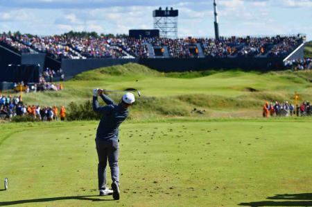 Record breaking crowds at Royal Birkdale