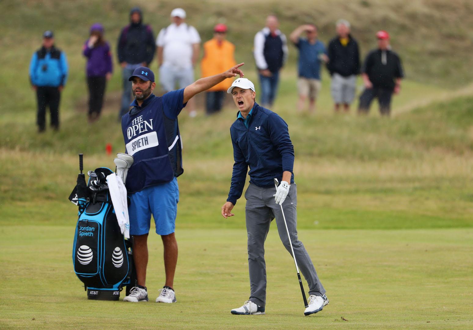 Jordan Spieth's Open winning What's in the Bag