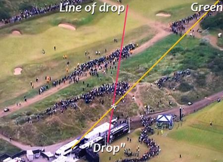 New controversy over Spieth's drop on 13
