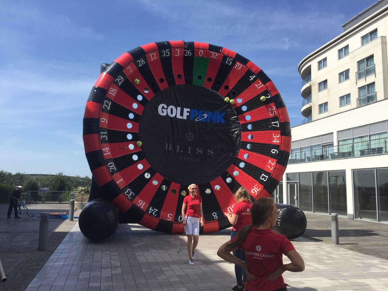 GOLFZON launch dart-board game
