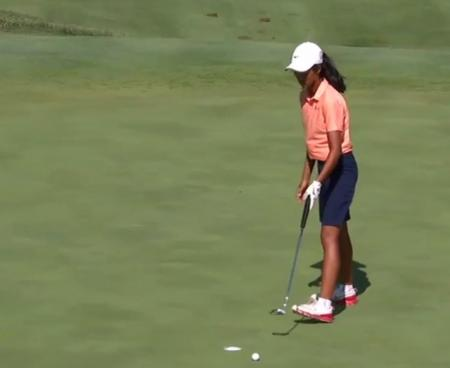 Bizarre incident at US Girls Junior