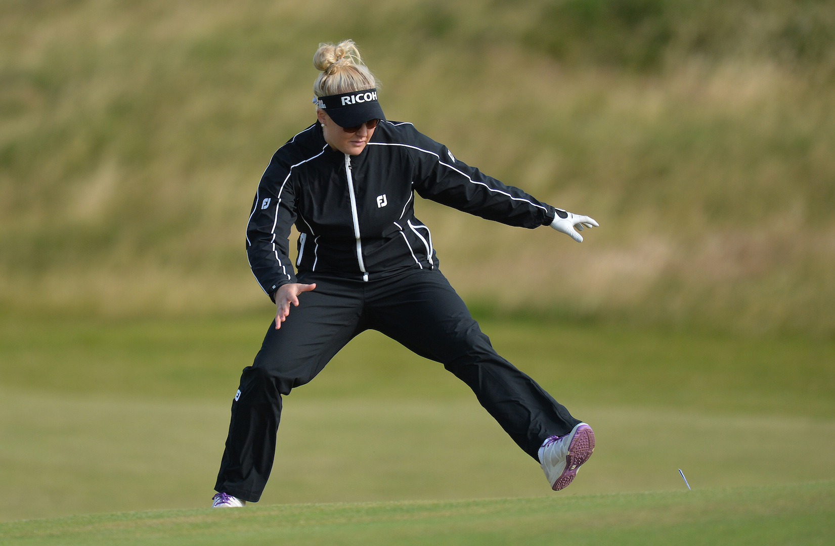 Ricoh British Women's Open Round I tee times