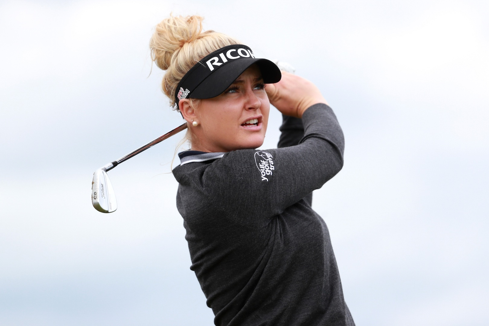 Inside the ropes with Charley Hull at the Ricoh
