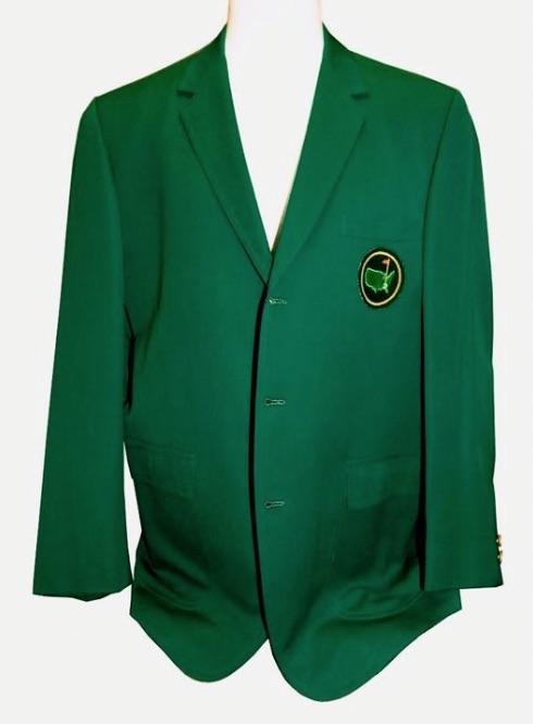 Auction of Byron Nelson Green Jacket halted