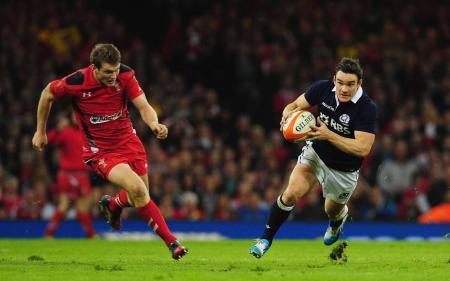 Scottish Rugby Star Max Evans