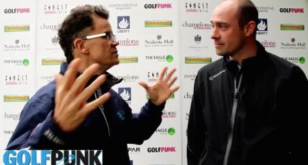 Dominic Holland joins GolfPunk at the British Par 3