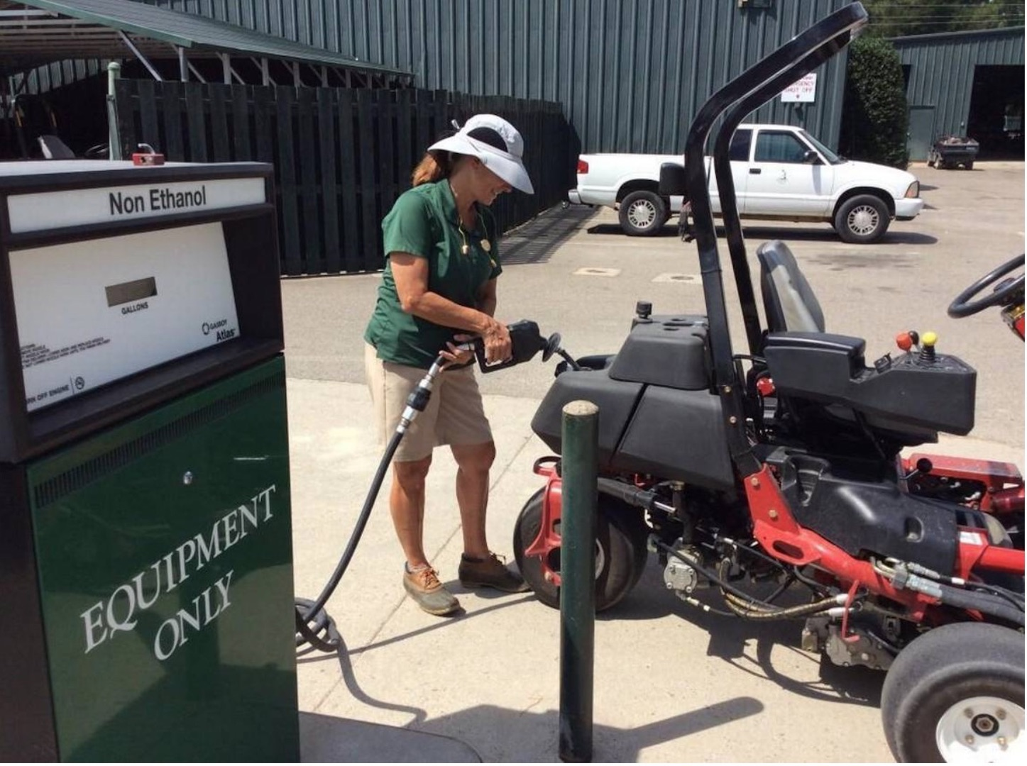 Retired nurse completes mowing grand slam