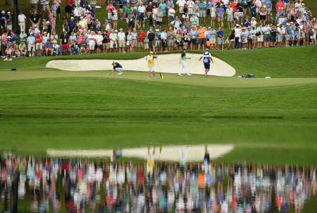 USPGA final day tee times and pairings