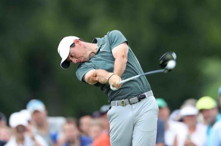 Rory McIlroy falls down the world rankings