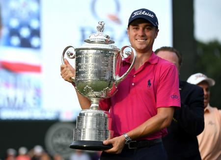 Justin Thomas wins USPGA