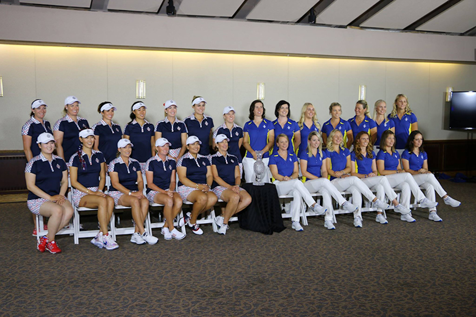 Pettersen out, Matthew in for Solheim Cup team