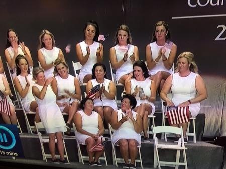 Solheim Cup opening ceremony goes awry
