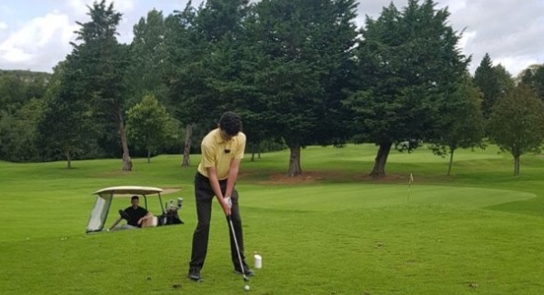 Teenager's 67 million to 1 hole in ones