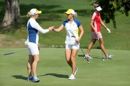Solheim Cup morning foursome