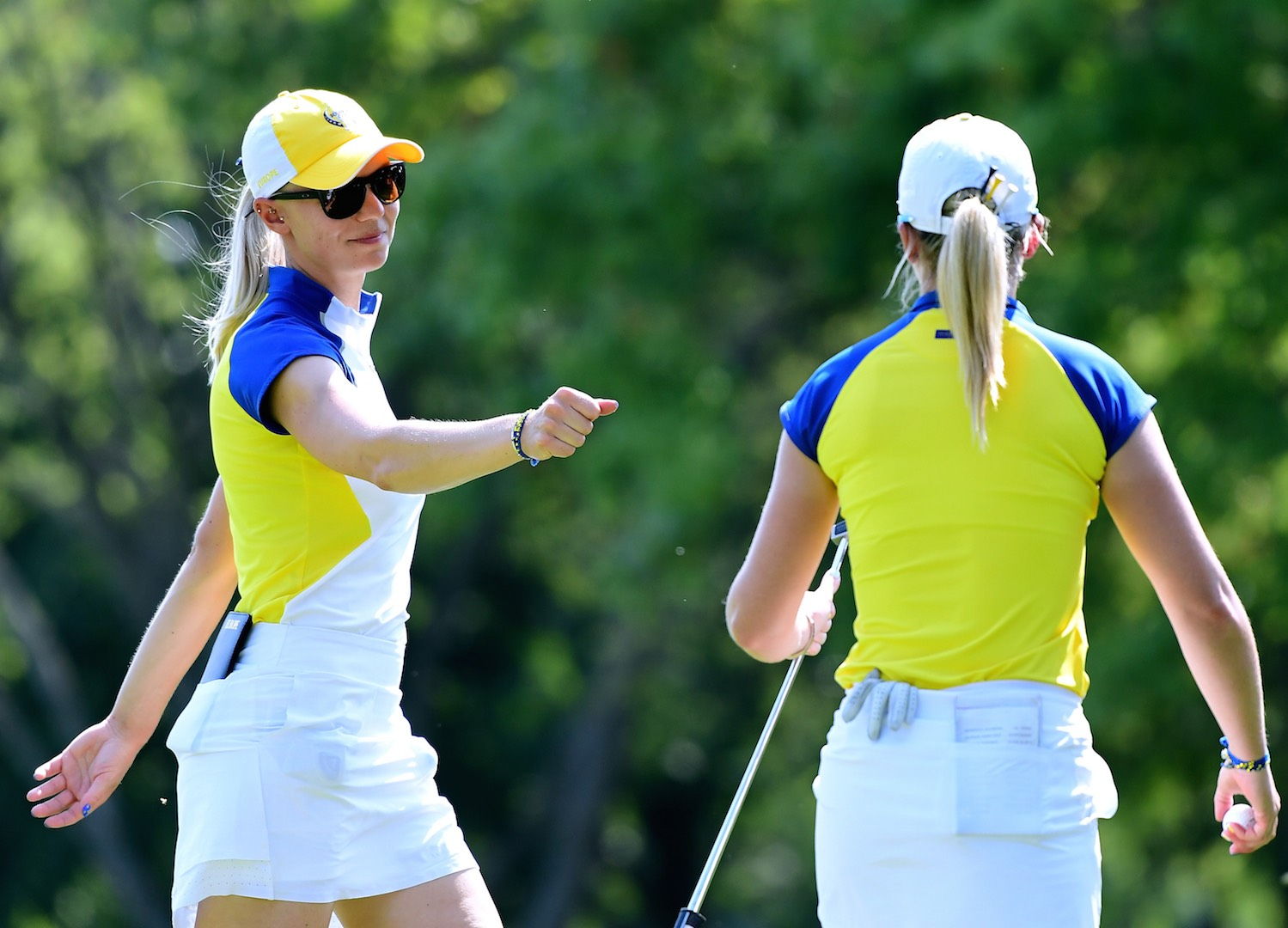 Solheim Cup whitewash for USA