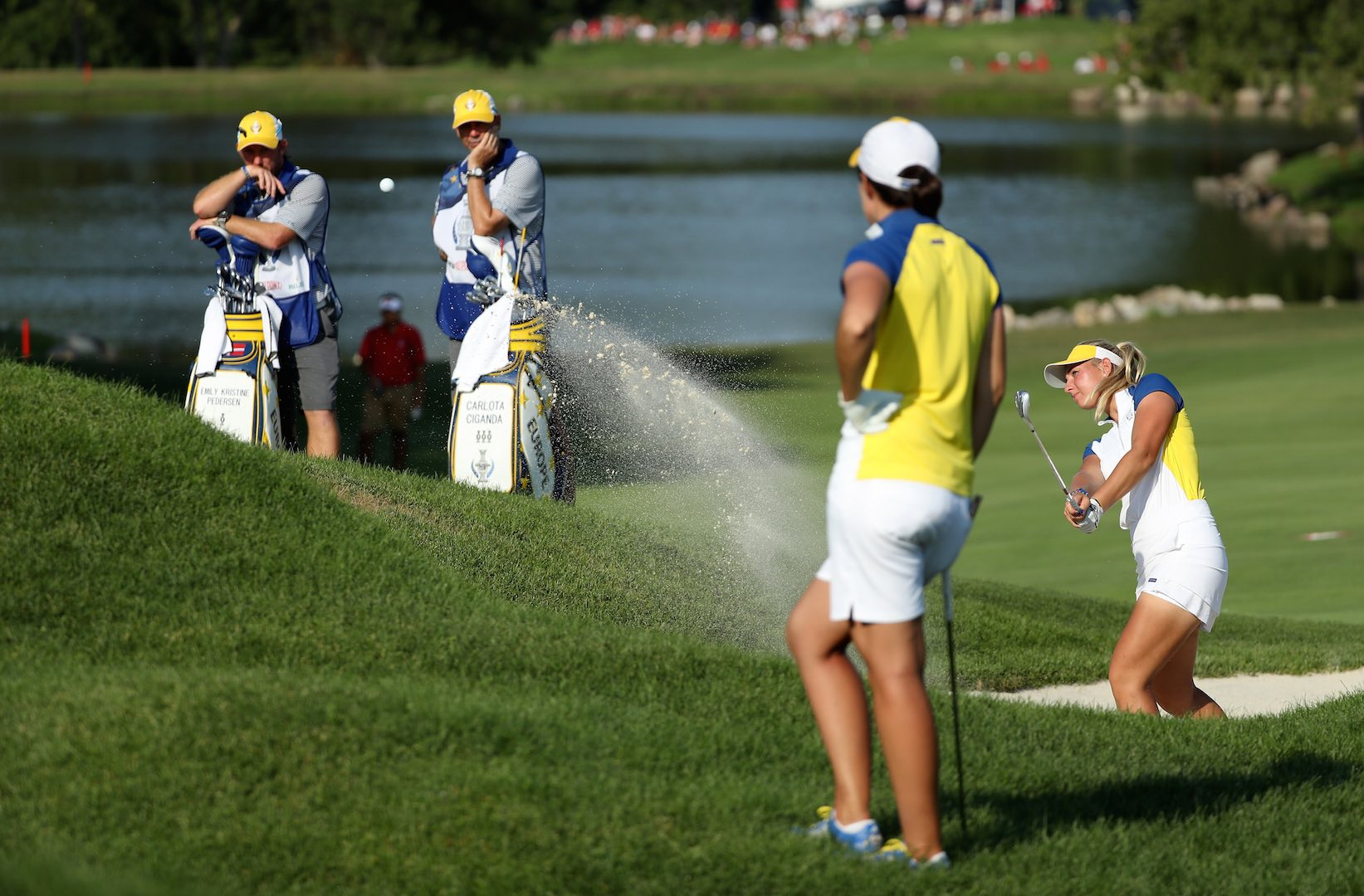Solheim Cup Saturday 4somes pairings & tee times