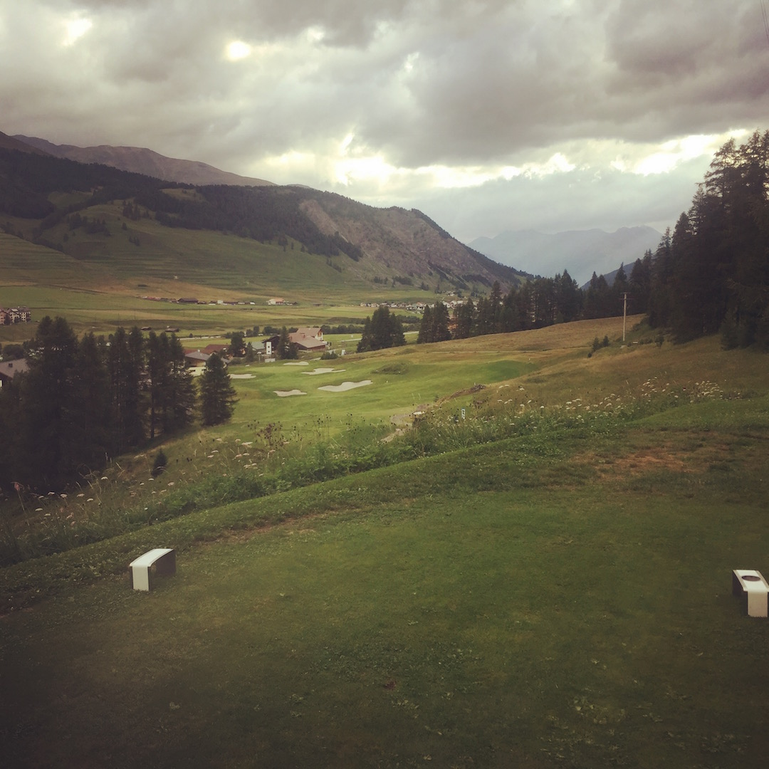 All aboard Golf's Glacier Express!!