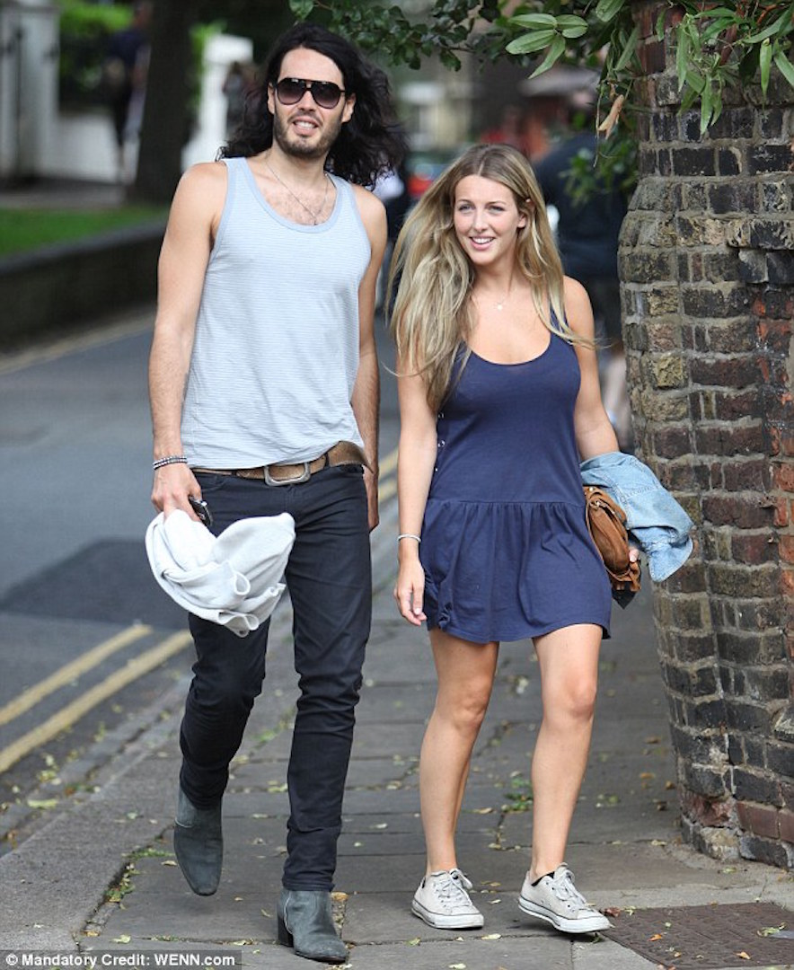 Russell Brand marries Bernard Gallacher's daughter