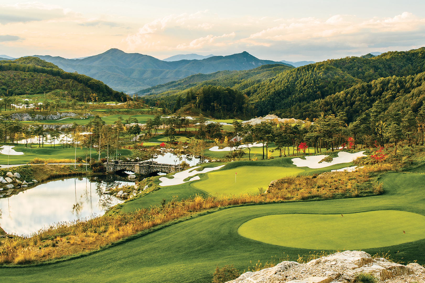 South Korean golf course