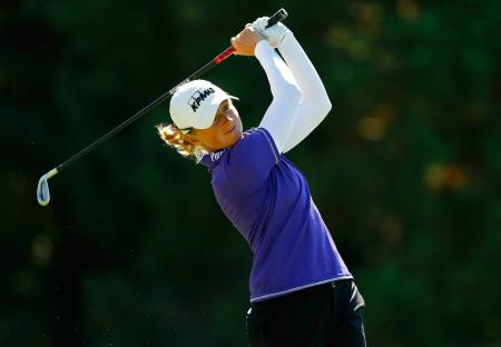 Stacy Lewis leads the Cambia Portland Classic