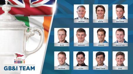 Walker Cup 2017 Meet the GB & Ireland team