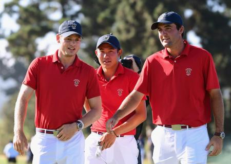 Walker Cup Sunday tee times & pairings
