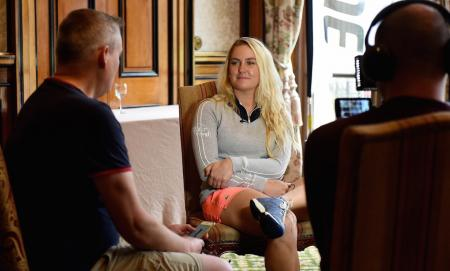 Charley Hull takes the GolfPunk Biscuit Tin Interview
