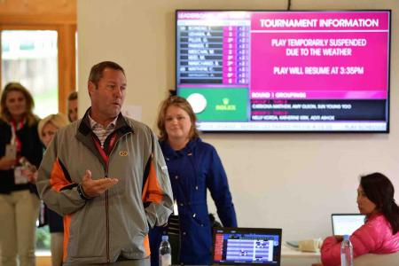 Evian Championship – first round cancelled
