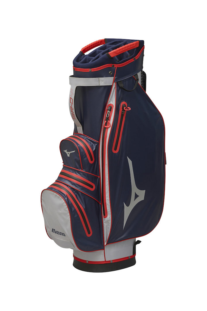 Mizuno launches strong line-up of golf bags this autumn