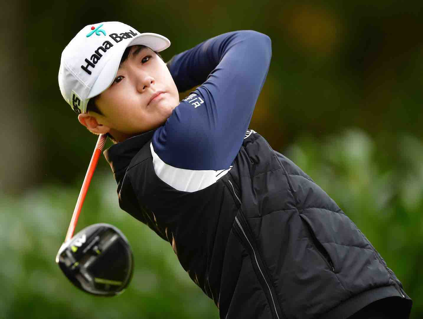Lydia Ko in tie for eighth at Evian Championship