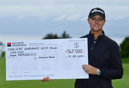 Evian Championship – Nordqvist wins play off