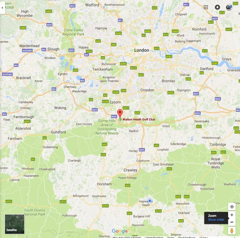 Golf travel – 5 Golf Adventures within M25