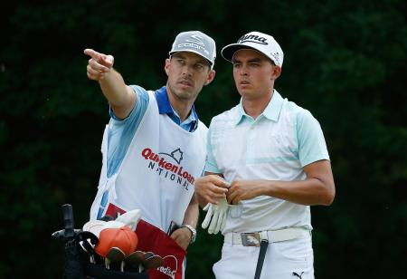 Rickie Fowler Aces His 18th Hole