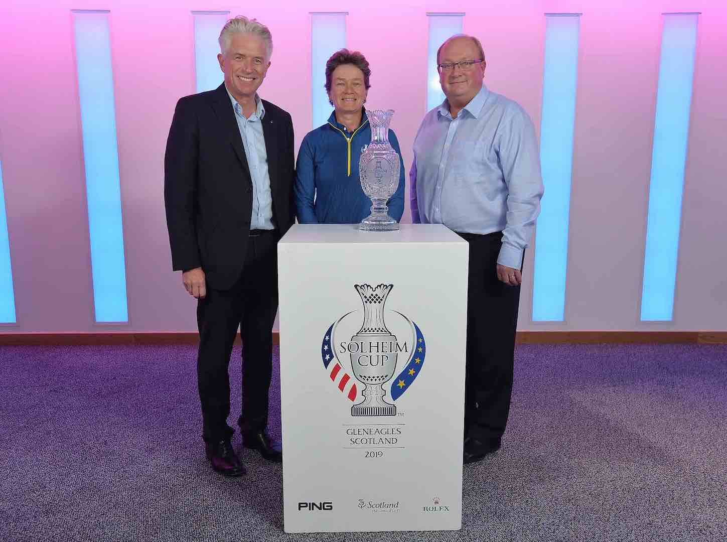 Catriona Matthew appointed European Captain for 2019 Solheim Cup