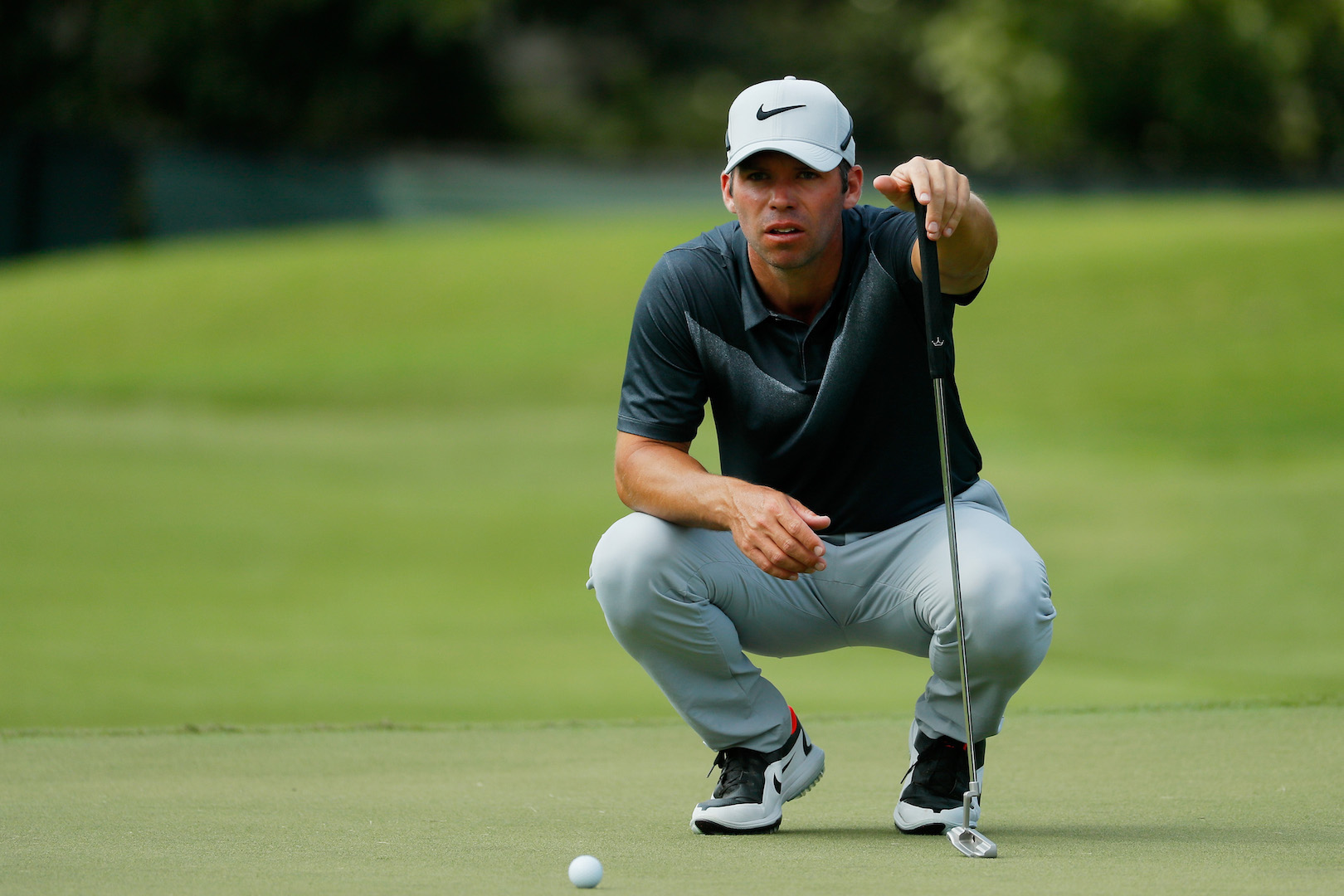 Paul Casey leads at the Tour Championship