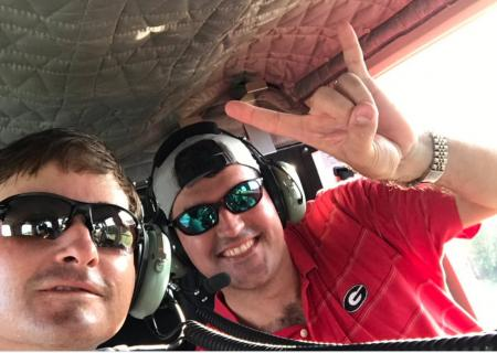 Kevin Kisner hitches helicopter ride